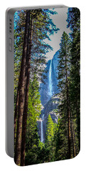 Yosemite Falls Portable Battery Charger by Dany Lison