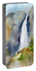 Yosemite Falls Springtime Portable Battery Charger