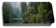 Portable Battery Charger featuring the photograph Yosemite National Park by Laurel Powell