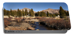 Portable Battery Charger featuring the photograph Yosemite Tuolumne by David Millenheft
