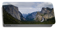 Yosemite Valley Panoramic Portable Battery Charger