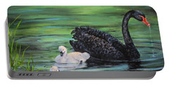 You Comin'--black Swan Portable Battery Charger