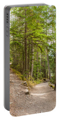 Portable Battery Charger featuring the photograph You Take The High Road And I'll Take The Low Road by John M Bailey