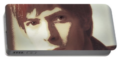 Young Bowie Pop Art Portable Battery Charger