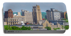 D39u-2 Youngstown Ohio Skyline Photo Portable Battery Charger