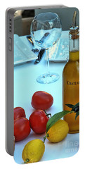 Portable Battery Charger featuring the photograph Your Table Is Ready by Allen Beatty