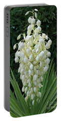 Yucca Blossoms Portable Battery Charger