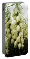 Portable Battery Charger featuring the photograph Yucca Forest by Steven Milner