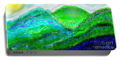 Van Gogh Sunrise Portable Battery Charger