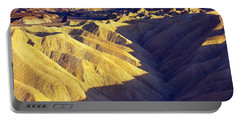 Zabriski Point #2 Portable Battery Charger by Stuart Litoff