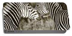 Zebra Affection Portable Battery Charger
