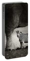 Zebra Barking Portable Battery Charger