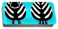 Zebra - Both Ends Portable Battery Charger