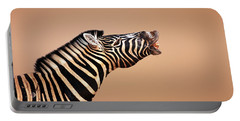 Zebra Calling Portable Battery Charger