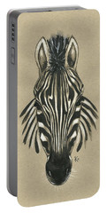 Zebra Front Portable Battery Charger