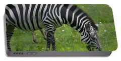 Zebra Grazing Portable Battery Charger