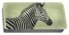 Zebra Portable Battery Charger by James W Johnson