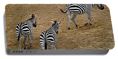 Zebra Tails Portable Battery Charger