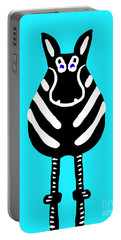 Zebra - The Front View Portable Battery Charger