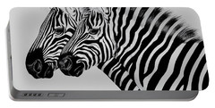 Zebra Twins Portable Battery Charger