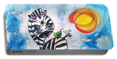 Zebra Zee  Portable Battery Charger