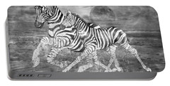 Zebras I Of II Portable Battery Charger