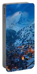 Zermatt - Winter's Night Portable Battery Charger