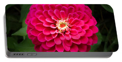 Zinnia In Bloom Square Portable Battery Charger