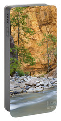 Portable Battery Charger featuring the photograph Zion Narrows by Bryan Keil