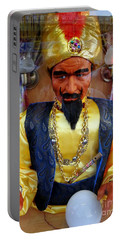 Portable Battery Charger featuring the photograph Zoltar by Ed Weidman