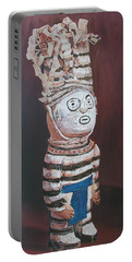 Zuni Clown Portable Battery Charger