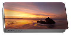 Portable Battery Charger featuring the photograph  Atomic Sunset by Beverly Cash