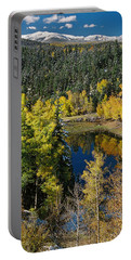 Fall Color On Bobcat Pass Portable Battery Charger