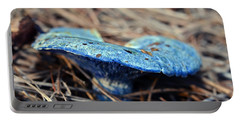 Portable Battery Charger featuring the photograph  Indigo Milky by Susan Leggett