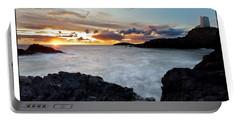 Llanddwyn Island Sunset Portable Battery Charger
