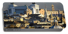 Rome's Rooftops Portable Battery Charger