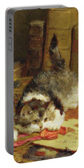 Stalking Cat Portable Battery Charger