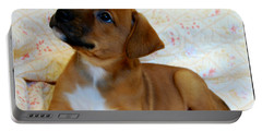 Portable Battery Charger featuring the photograph   Take Me Home Please by Peggy Franz