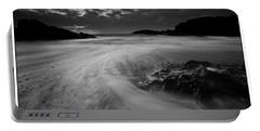 Llanddwyn Island Beach Portable Battery Charger by Beverly Cash