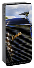 Portable Battery Charger featuring the photograph 1937 Ford Model 78 Cabriolet Convertible By Darrin by Gordon Dean II