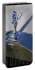 Portable Battery Charger featuring the photograph 1965 Rolls Royce Silver Cloud IIi Mpw Coupe by Gordon Dean II