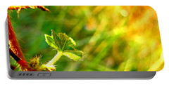 Portable Battery Charger featuring the photograph A New Morning by Debbie Portwood