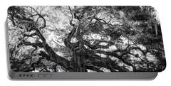 Angel Oak Portable Battery Charger by Lynne Jenkins