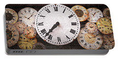 Antique Clocks Portable Battery Charger