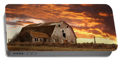Barn On Highway 21 Portable Battery Charger