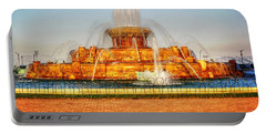 Buckingham Fountain Portable Battery Charger by Dan Stone