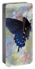 Butterfly Love Portable Battery Charger by Betty LaRue