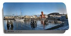 Cardiff Bay Panorama Portable Battery Charger