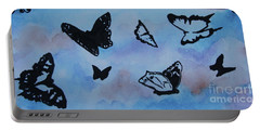 Chasing Butterflies Portable Battery Charger by Jan Bennicoff