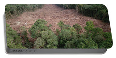 Clearing Of Tropical Rainforest South Portable Battery Charger
